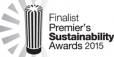 Finalist in the Premier's Sustainability Awards 2015
